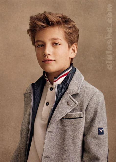 junior haircuts alalosha vogue enfants armani fw14 15 boys collection