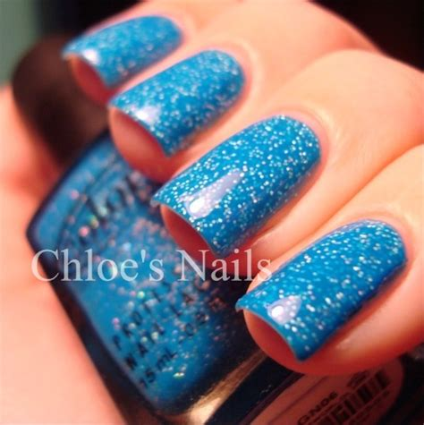 color club nail retailers color club otherworldly bright blue creme shimmery