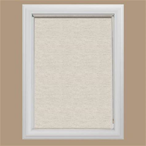 Home Depot Roller Shades by Bali Cut To Size Oatmeal Light Filtering Fabric Roller