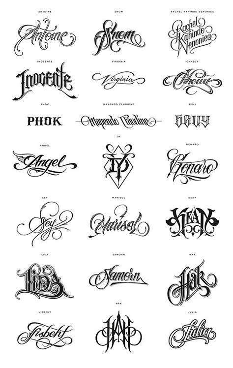 design my tattoo lettering best 25 name tattoos ideas on baby name