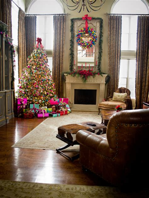 christmas curtains for living room christmas living room decorations