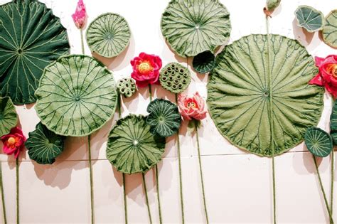 the knitting garden botanic garden exhibition is knitted with