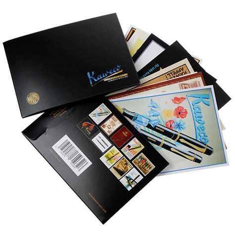 kaweco postcard set cult pens