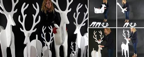christmas display props decorations from polystyrene for