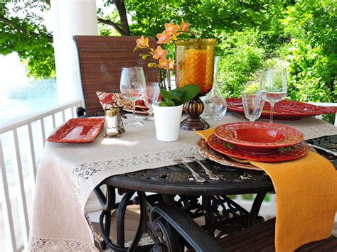 Outdoor Table Runner The Essential Table Runner Lifestyle By The Water