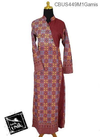 Gamis Murah Pekalongan baju batik gamis pekalongan motif songket kawung gamis