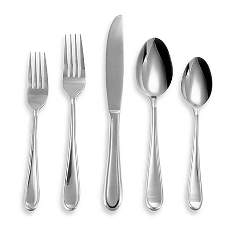 bed bath and beyond flatware buy hton forge clark 20 piece flatware set from bed