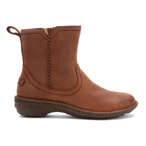 ugg boots for womens ugg australia women s neevah boots in chocolate leather