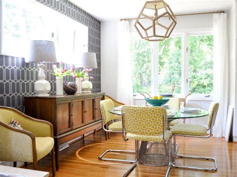 Family Dining Room Ideas by Midcentury Modern Family Dining Room Evaru Design Hgtv