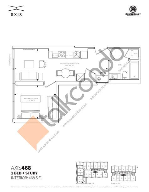 axis floor plans axis condos talkcondo