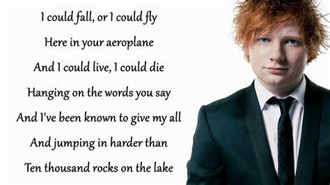 ed sheeran perfect versuri dive ed sheeran lyrics song lyrics