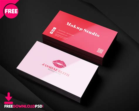 Makeup Artist Business Cards Templates Free
