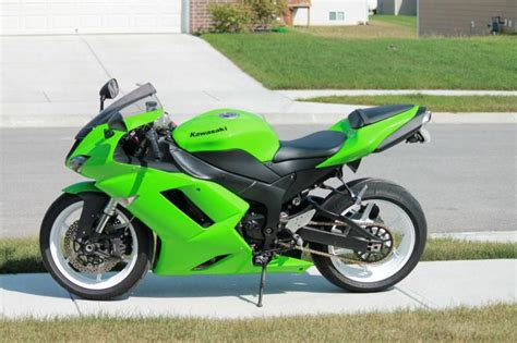 2007 Kawasaki Zx6r by Buy 2007 Kawasaki Zx6r Zx6 Motorcycle Sportbike On 2040 Motos