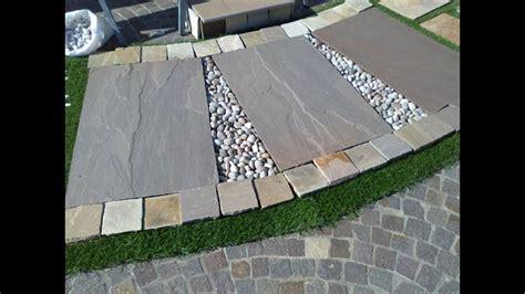 lastre da giardino arredo giardini lastre in pietra indiana ciottoli di