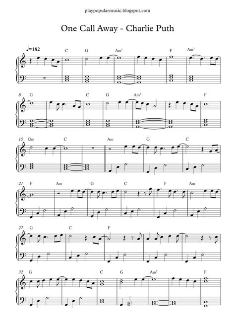 Free sheet piano when i was your man lyric