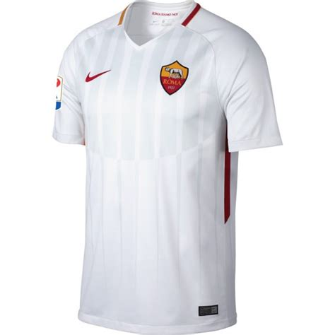 Jersey Roma Away as roma away jersey 2017 2018 serie a patch
