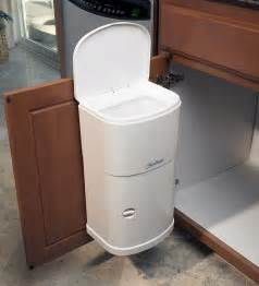 cabinet trash can with automatic lid kitchen dining