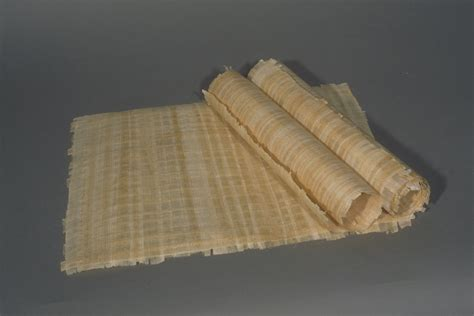 What Is L Made From by Papyrus Made Today Larger Image Incunabula Of
