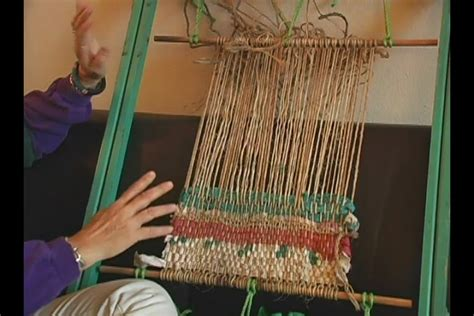 How To Make A Frame Loom For Rag Rugs by Materials Techniques For Weaving On A Frame Loom