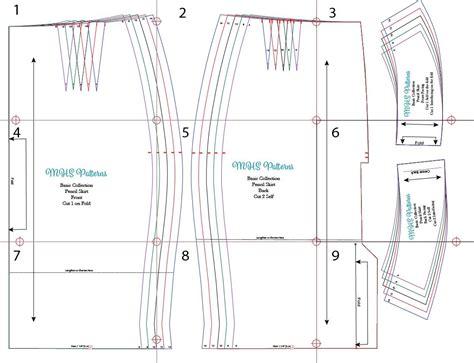 pattern drafting pencil skirt free pencil skirt pattern šit 237 sewing pinterest