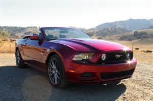 2014 Ford Mustang Convertible 2014 Ford Mustang Gt Convertible Test Motor Trend