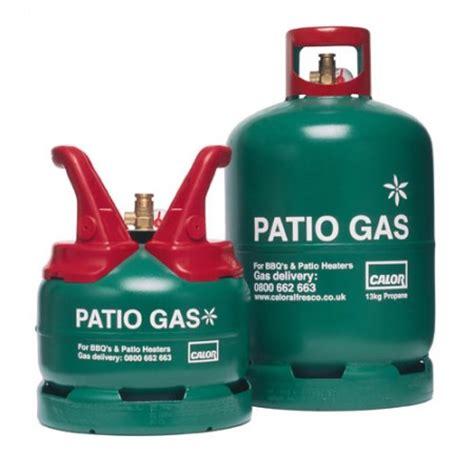 patio gas cylinder calor gas