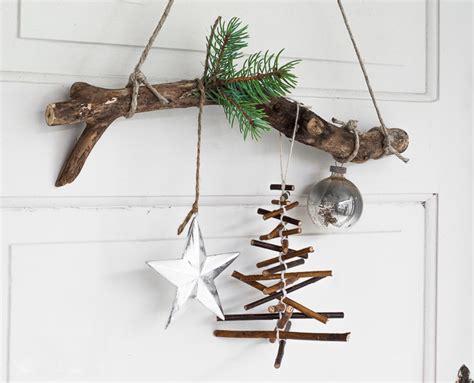 umweltfreundliche weihnachtsdeko zweige dekoration zu