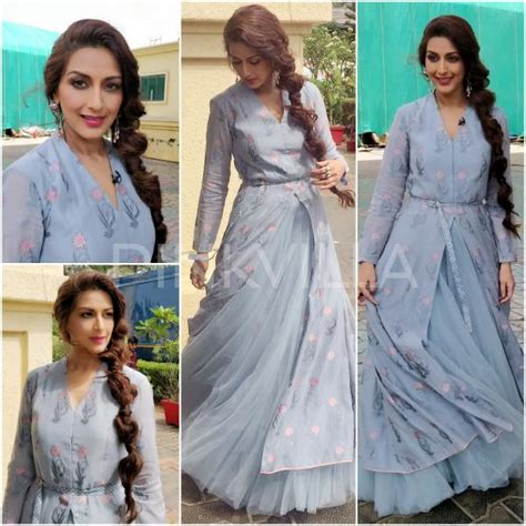 Lycan Dress Anak Kd Drs Polka yay or nay sonali bendre in sunaina khera and dongre pinkvilla