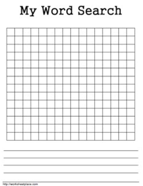 printable word search blank free word searches worksheets