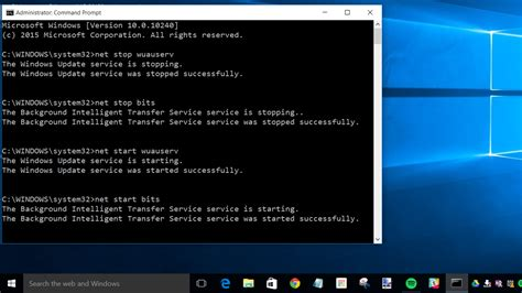 background intelligent transfer service manually fix windows update