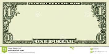 Million Dollar Bill Template by Blank Us Dollar Clipart