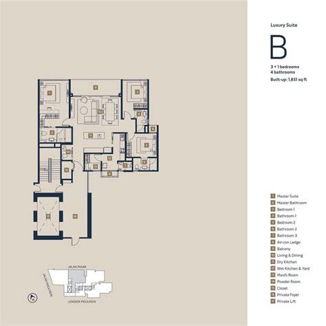 1 moulmein rise floor plan moulmein rise luxury suites belleviewbelleview