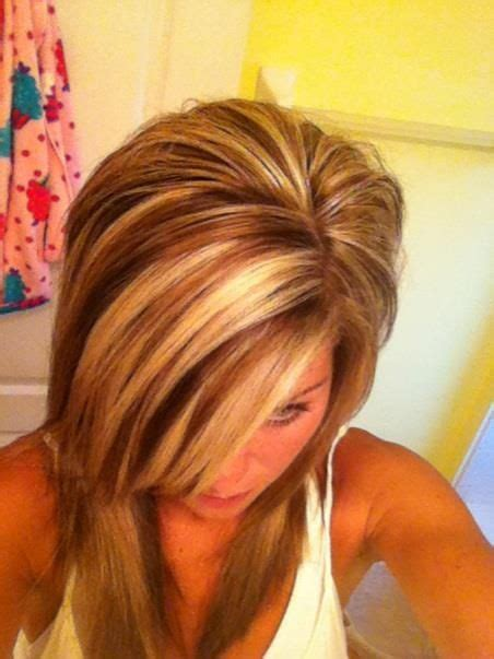 red and high and lowlight hairstyles red highlights highlights lowlights pinterest hair