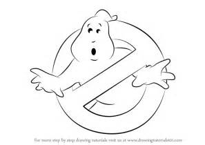 learn how to draw ghostbusters logo ghostbusters step by