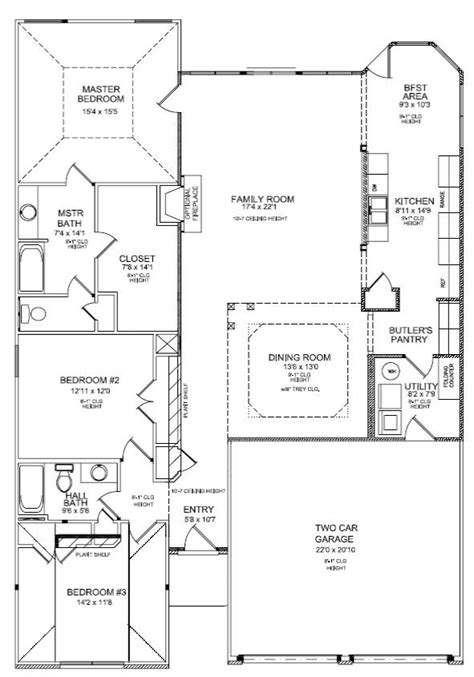 reading a floor plan how to read a floor plan