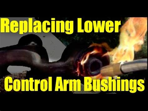 how to change the lower control arm on a 1993 alfa romeo 164 fire replacing lower control arm bushings 1993 lexus sc300 youtube