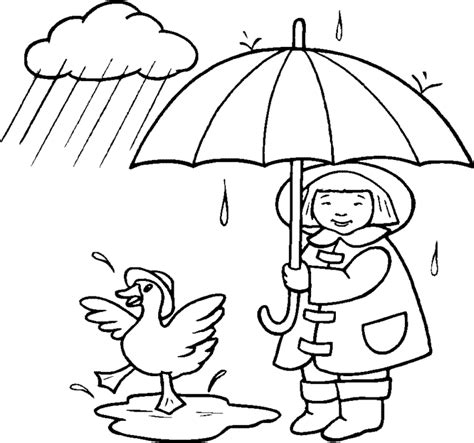 coloring pages rain az coloring pages rain coloring pages drawn rain colouring page pencil and