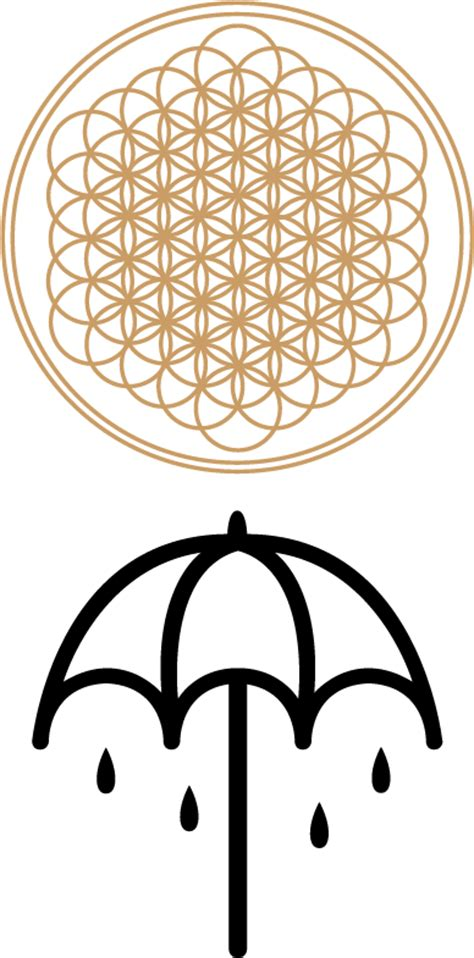 Bring Me The Horizon Logo And The Beatles Y2235 Xiaomi Mi Max Casing pin bmth logo on