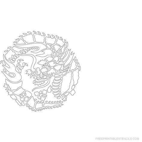 printable japanese art japanese art stencil printable designs free printable