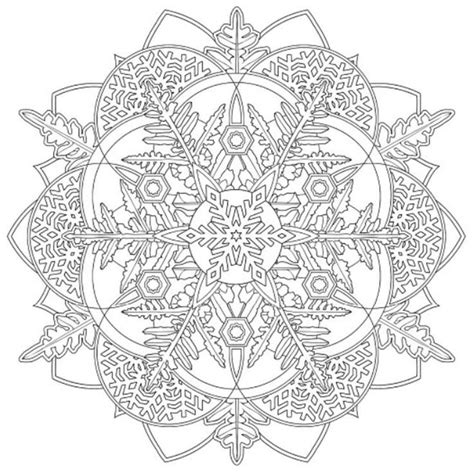creative haven snowflake mandalas 17 best images about floral mandelas zentangles etc to color on coloring mandala