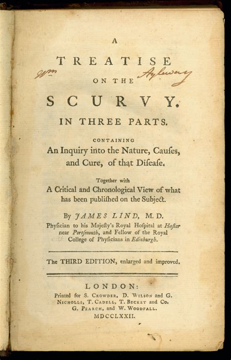 scurvy past and present classic reprint books lind 7