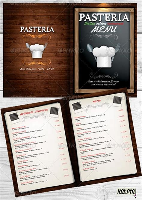restaurant menu psd template free hypernot beautiful restaurant menu templates and designs