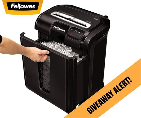 Giveaway Canada - fellowes canada flash giveaway win a powershred 85ci