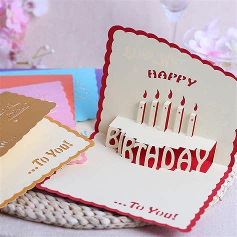 Handmade Card Company - the new stereoscopic 3d handmade cards diy staff birthday