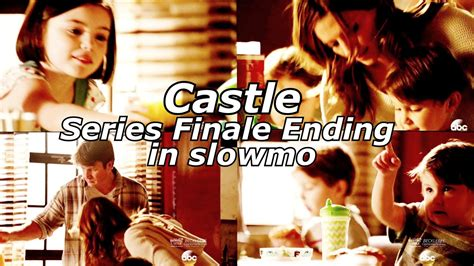 Season Finale Of The by Castle 8x22 Ending End Series Finale In Slowmo