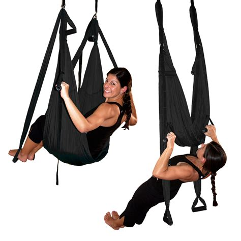 aerial yoga swings black gravotonics aerial yoga inversion swing st