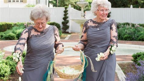Wedding Hairstyles For Grandmothers These Adorable Grandmothers Are Flower At Wedding