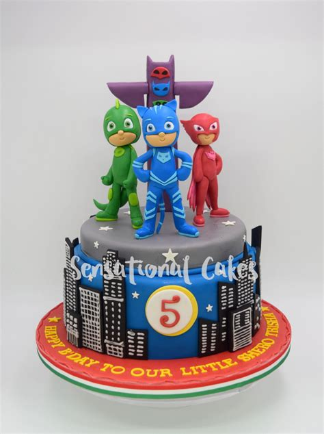 sensational cakes pj mask boy birthday theme cake singapore pjmaskcake