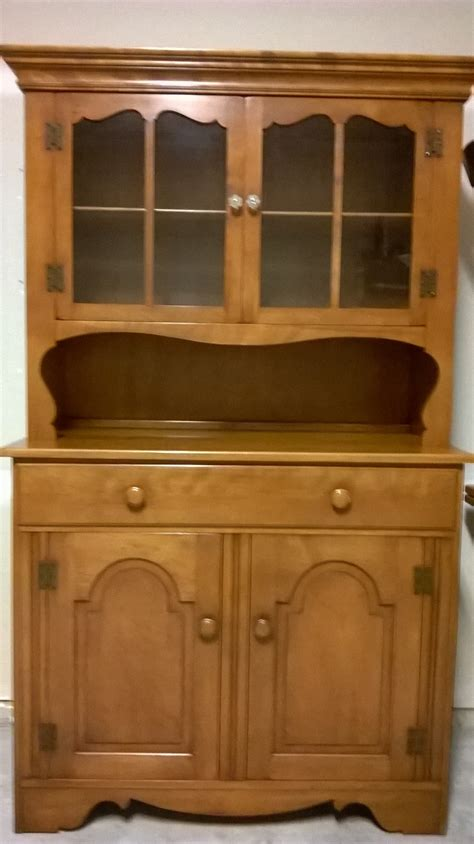 antique dining room hutch 1950 s maple dining room set with hutch for sale