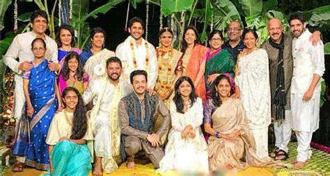 actor nagarjuna family photo akkineni family ultimate pic